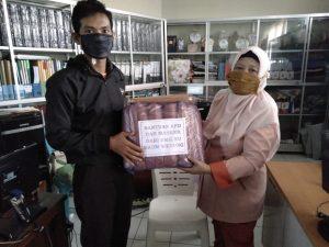 Pendistribusian Bantuan Hazmat dan Masker di RS NU Demak
